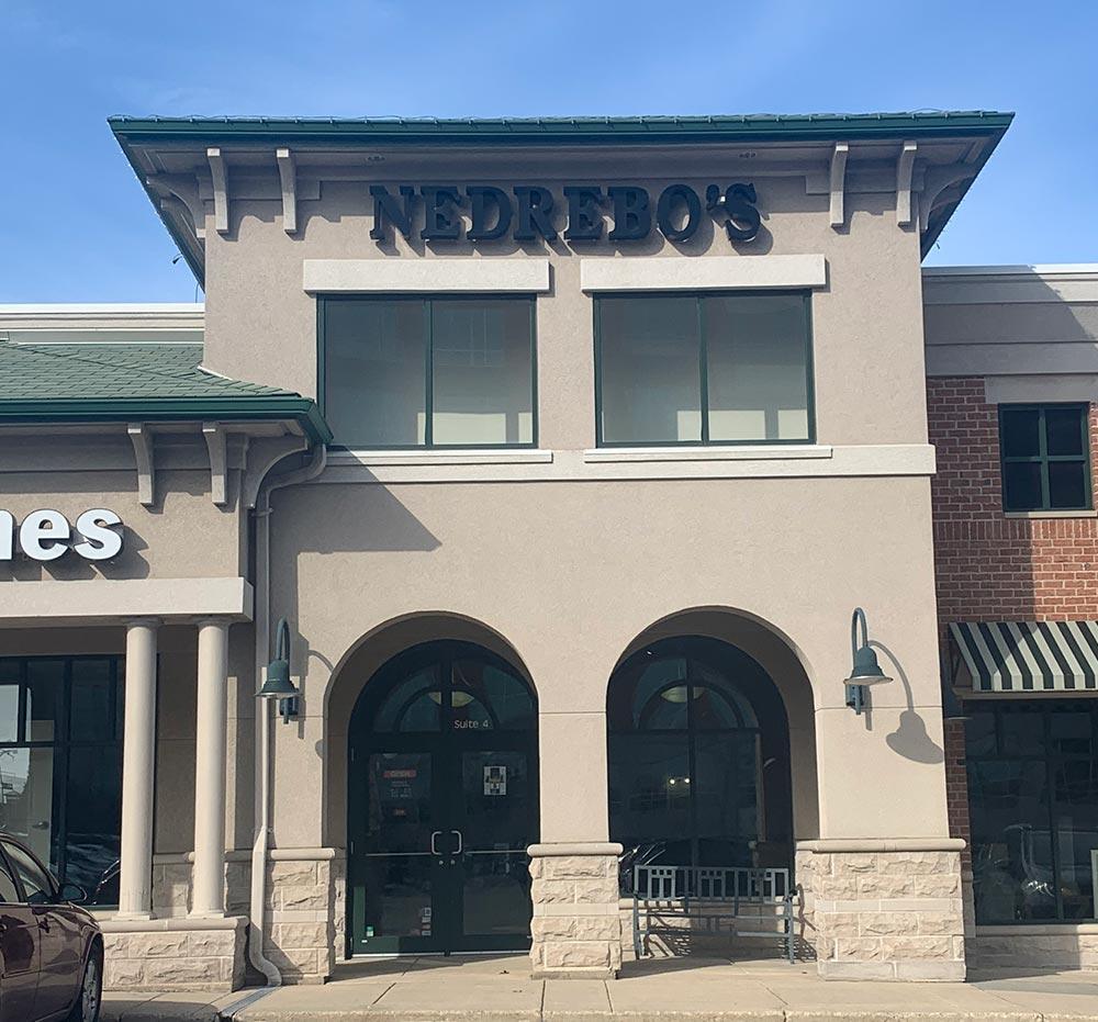 Nedrebo's storefront in our Madison Portofino location