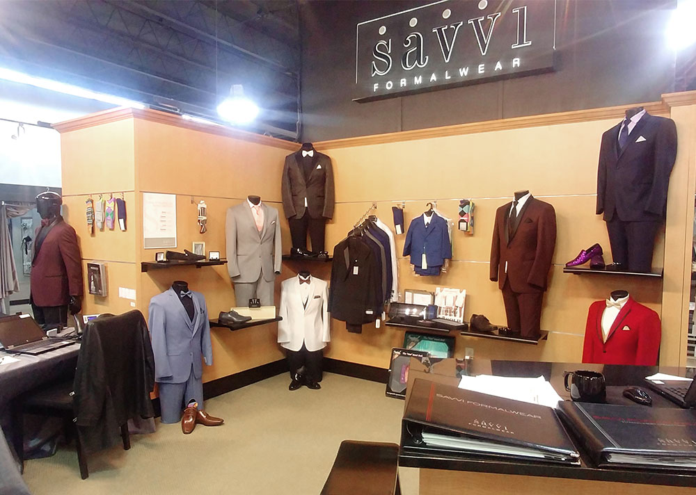 Anya Bridal store in the inside in Southland